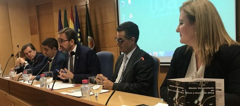 El COI destaca la contribución de la UJA a la formación del sector en la inauguración del Máster Universitario en Olivar y Aceite de Oliva