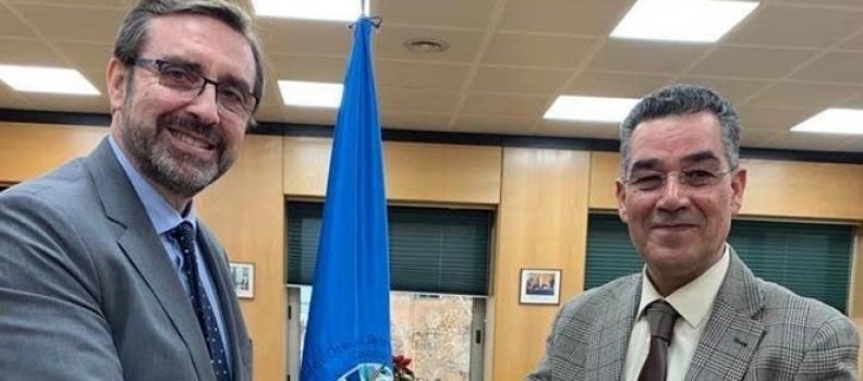 La Universidad de Jaén y el Consejo Oleícola Internacional concretan su colaboración con la firma de un memorando de entendimiento