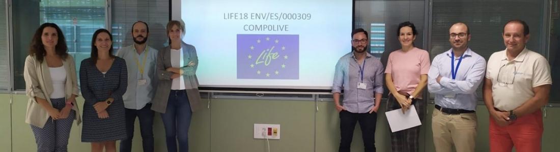 El proyecto europeo Life-Compolive se acerca a su fase industrial para producir composites a gran escala mediante la incorporación de residuos del olivar en plásticos