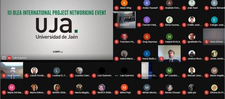 El rector de la UJA abre el III OLEA Internacional Networking Event que se celebra online con más de 200 participantes de 34 países