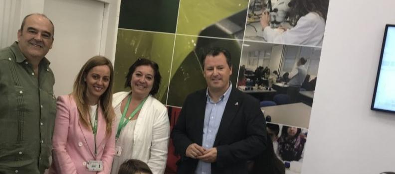 La UJA organizó en Expoliva talleres divulgativos para el público más joven relacionados con la biodiversidad del olivar