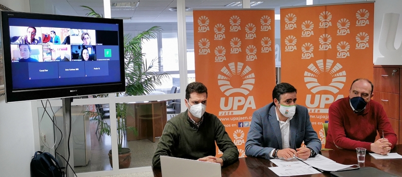 UPA Jaén reclama al Ministerio de Agricultura una convergencia dirigida, más social y progresista que blinde las explotaciones familiares