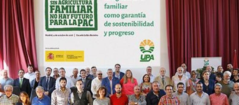 Planas afirma que la agricultura familiar supone el centro de la reforma de la PAC