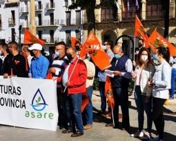 UPA Jaén y ASARE exigen agua e infraestructuras para regar el olivar y dar vida a la provincia