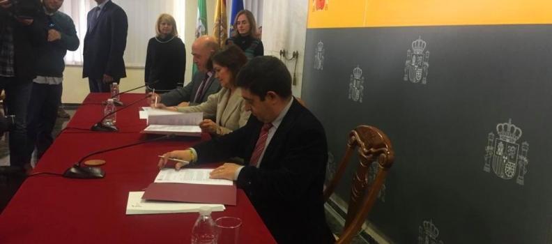 Las diputaciones de Jaén y Córdoba se alían con el Gobierno para aprovechar la Vía Verde del Aceite como recurso turístico