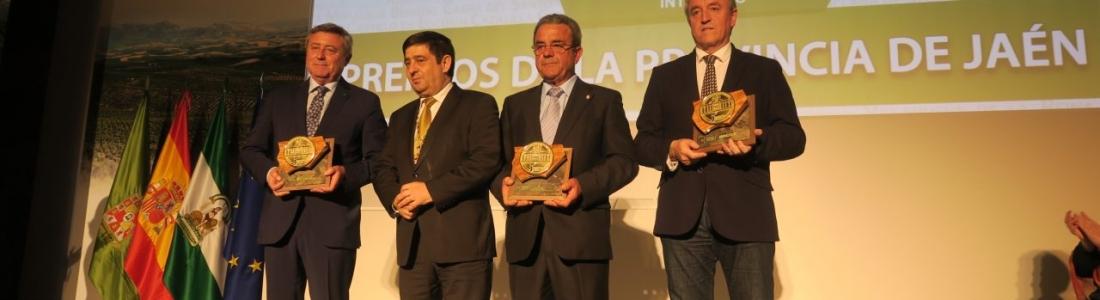 Entregados los V Premios de la Provincia de Jaén, entre ellos a los grupos aceiteros Interóleo, Jaencoop y Olivar de Segura