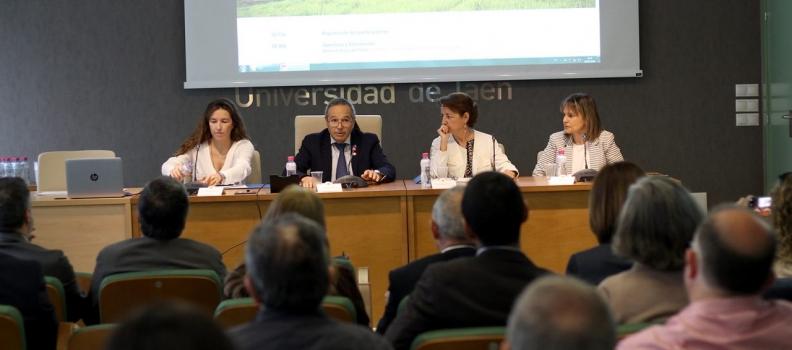 """La UJA acogió una jornada de difusión sobre """"Investigación en valorización de biomasa derivada del olivar"""""""
