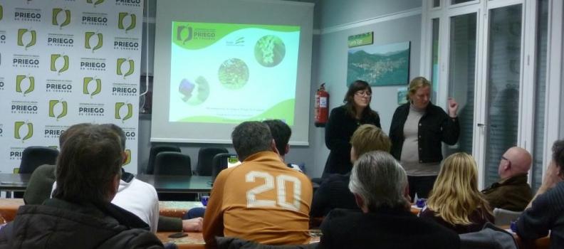 La DOP Priego de Córdoba promociona el aceite de oliva entre una quincena de cocineros holandeses