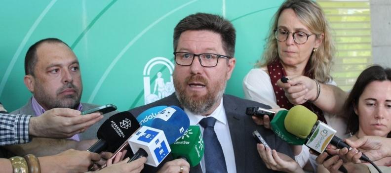 """Sánchez Haro exige que """"imperen el sentido común, la justicia  y la legalidad"""" y se supriman los aranceles a la aceituna negra"""