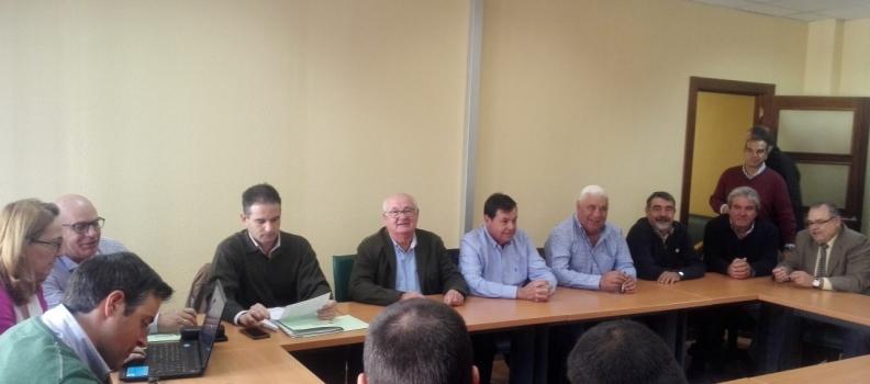 Constituida la mesa negociadora del convenio del campo de Jaén