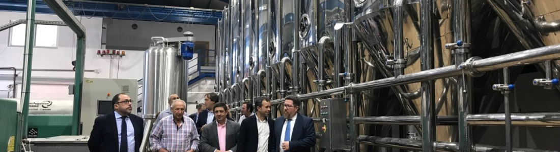 Sánchez Haro destaca la labor de la cooperativa San Juan de Jaén por aglutinar la oferta