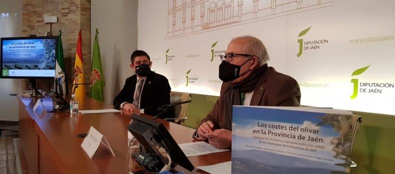 Una publicación editada por la Diputación revela que los costes del olivar en Jaén varían entre 1,73 y 4 euros para obtener un kilo de aceite