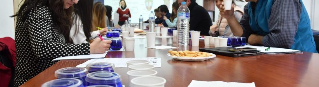 Nueva edición del curso de iniciación a la cata de aceite de oliva virgen extra en el Centro de Interpretación