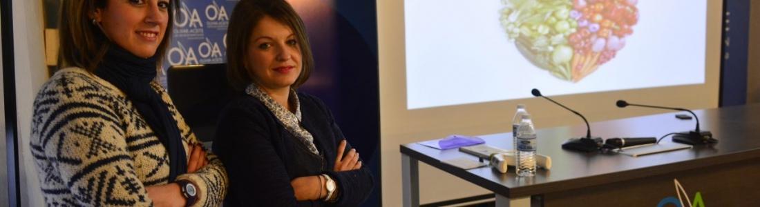 El Centro de Interpretación Olivar y Aceite acoge una conferencia sobre los beneficios de la dieta mediterránea