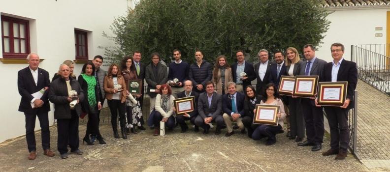 La Diputación de Jaén, distinguida como socia de honor de Ecovalia por su apoyo al desarrollo de alimentos ecológicos