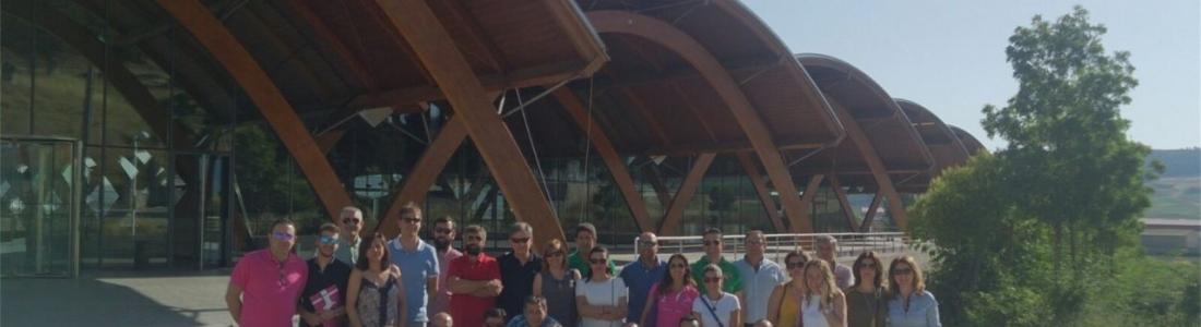 Empresas ligadas a OleotourJaén conocen las iniciativas de enoturismo en su visita a la DO Ribera del Duero