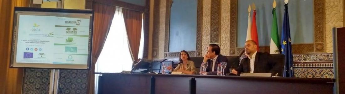 Rosa Ríos anuncia en una jornada en Córdoba que los Grupos Operativos accederán a una nueva convocatoria de 16 millones de euros en 2018