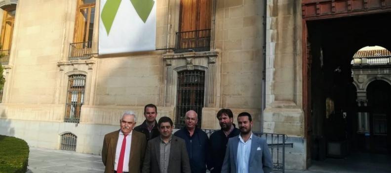 El sector olivarero encuentra el respaldo de la Diputación de Jaén a las concentraciones del 24 de febrero