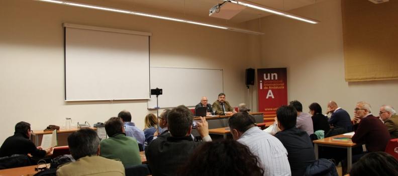 """La sede """"Antonio Machado"""" de Baeza acoge la presentación de un libro sobre denominaciones de origen e indicaciones geográficas en la UE"""