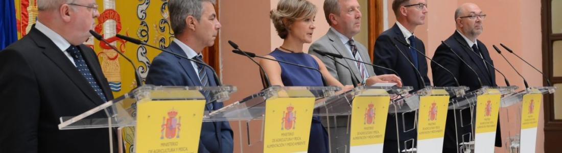 Declaración ministerial sobre el marco financiero plurianual y la Política Agraria Común suscrita por España, Finlandia, Francia, Grecia, Irlanda y Portugal