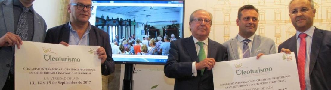 El Congreso de Oleoturismo profundizará en septiembre en Jaén en las posibilidades del sector