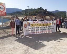El PSOE confía en que los regantes de la Sierra de Segura puedan aprovechar cuanto antes el agua de la presa de Siles y el PP pide que se construyan «de una vez» las canalizaciones