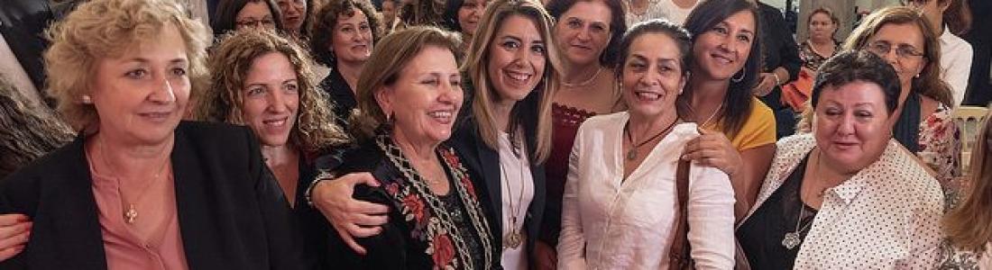 Díaz defiende «la visibilidad y el reconocimiento público» de las mujeres rurales