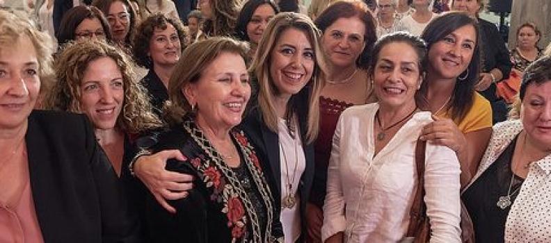 """Díaz defiende """"la visibilidad y el reconocimiento público"""" de las mujeres rurales"""