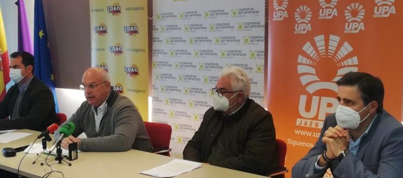 El sector productor retomará en la segunda quincena de abril las movilizaciones en Jaén con concentraciones para exigir la derogación del decreto de convergencia de la PAC