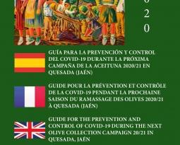El Ayuntamiento de Quesada edita una guía en tres idiomas para la campaña de recolección de la aceituna dirigida a temporeros y empresarios