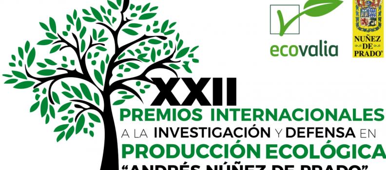Ecovalia convoca Premios Internacionales a la Investigación y Defensa en Producción Ecológica