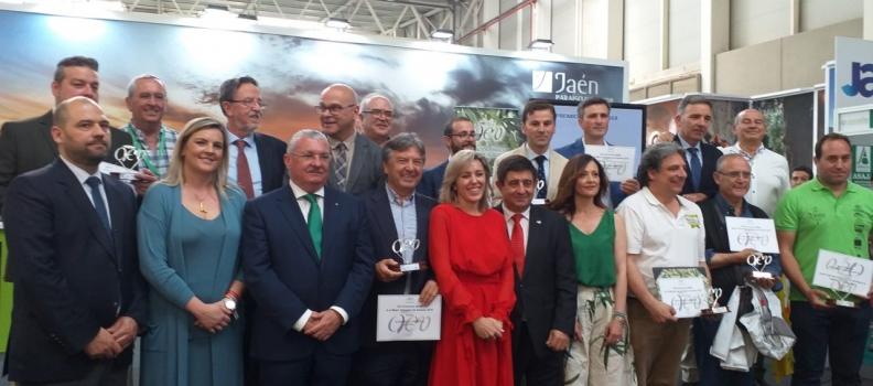 Entregados los Premios de la Asociación Española de Municipios del Olivo (AEMO)