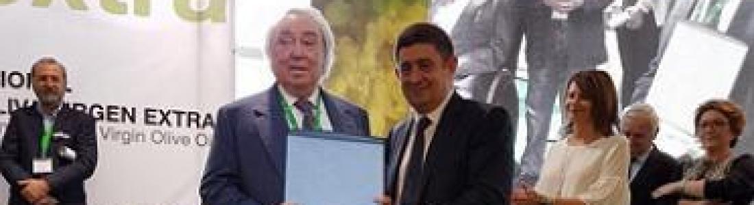 Gennaro Pieralisi, premiado en Expoliva