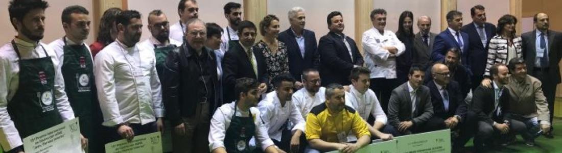 """Los doce cocineros finalistas disputarán este miércoles el Premio Internacional de Cocina con AOVE """"Jaén, paraíso interior"""""""