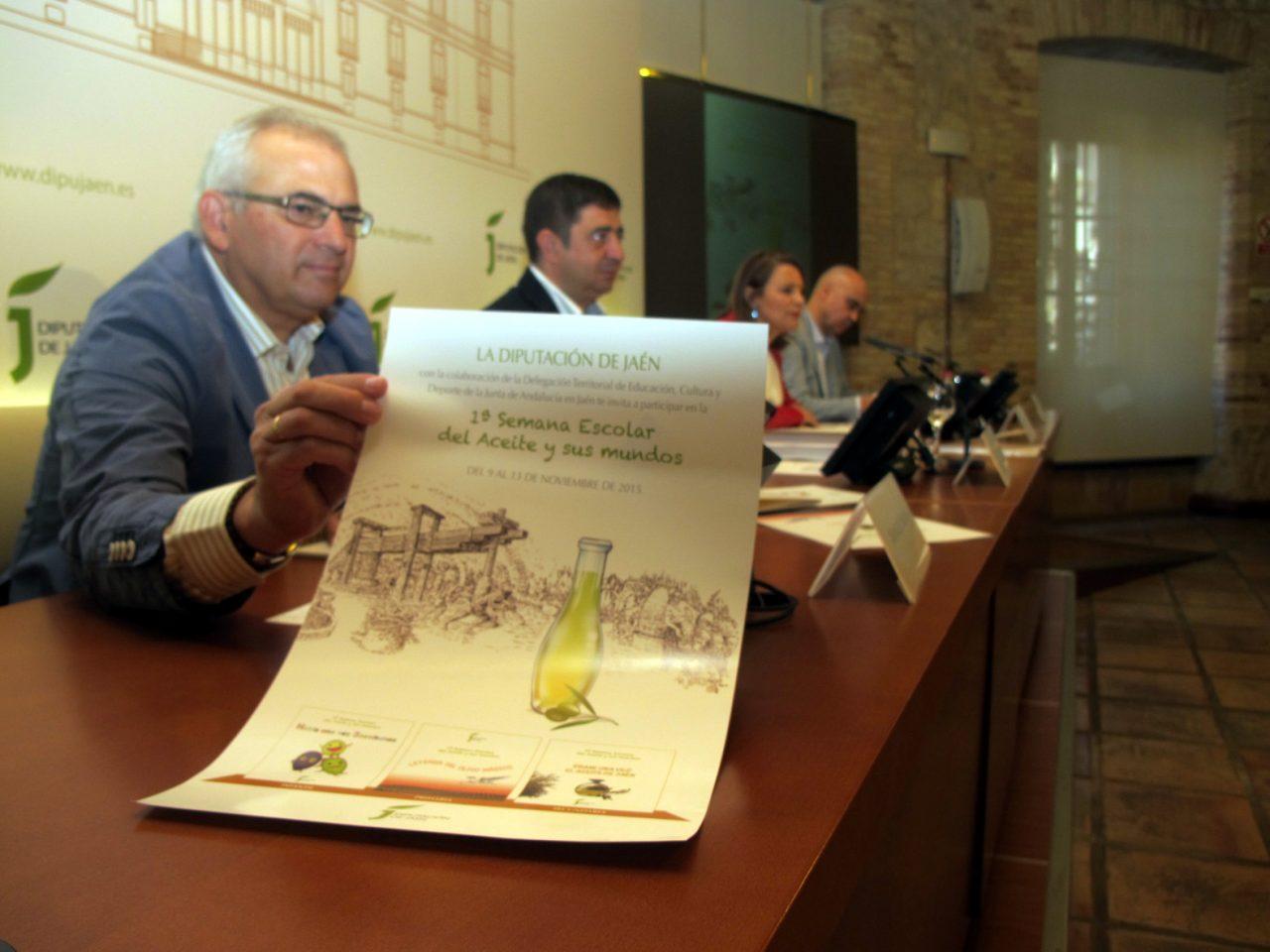 Más de 40.000 escolares de la provincia de Jaén participarán en la Semana Escolar del Aceite y sus Mundos