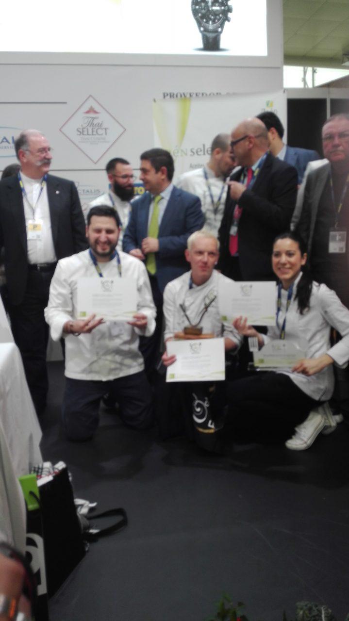 Toño Rodríguez, con «Pan, chocolate y AOVE», gana el XIII Premio de Cocina con Aceite de Oliva Virgen Extra
