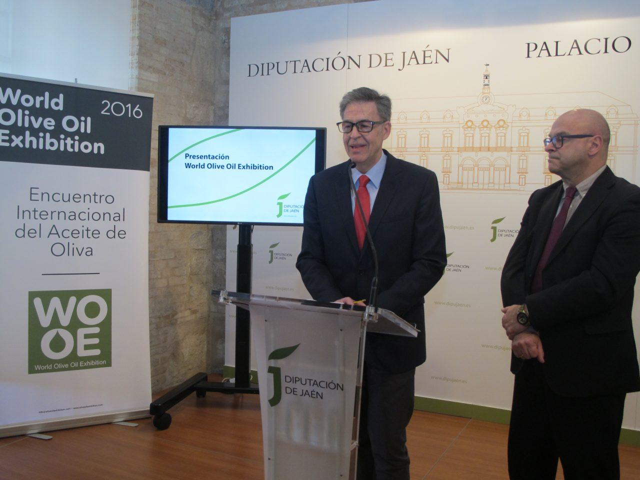 Presentan en Jaén la quinta de edición de la World Olive Oil Exhibition, que contará con más de cien expositores