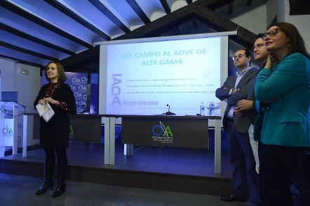 El Centro Olivar y Aceite acogió la conferencia «Del campo al AOVE de alta gama» de IADA Ingenieros
