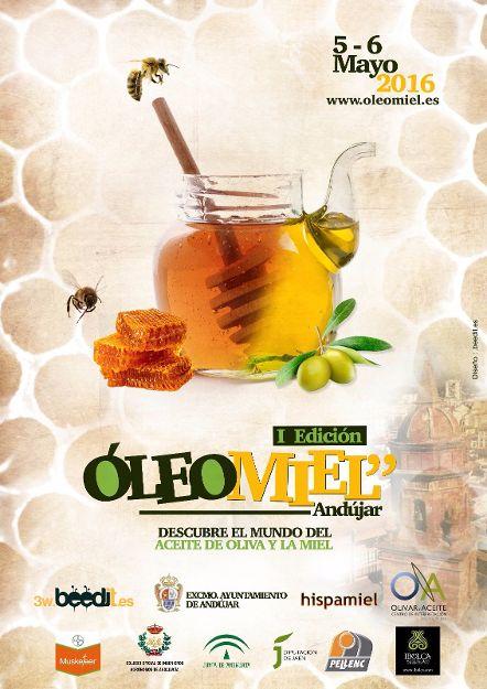Andújar acogerá los días 5 y 6 de mayo la primera edición de Oleomiel