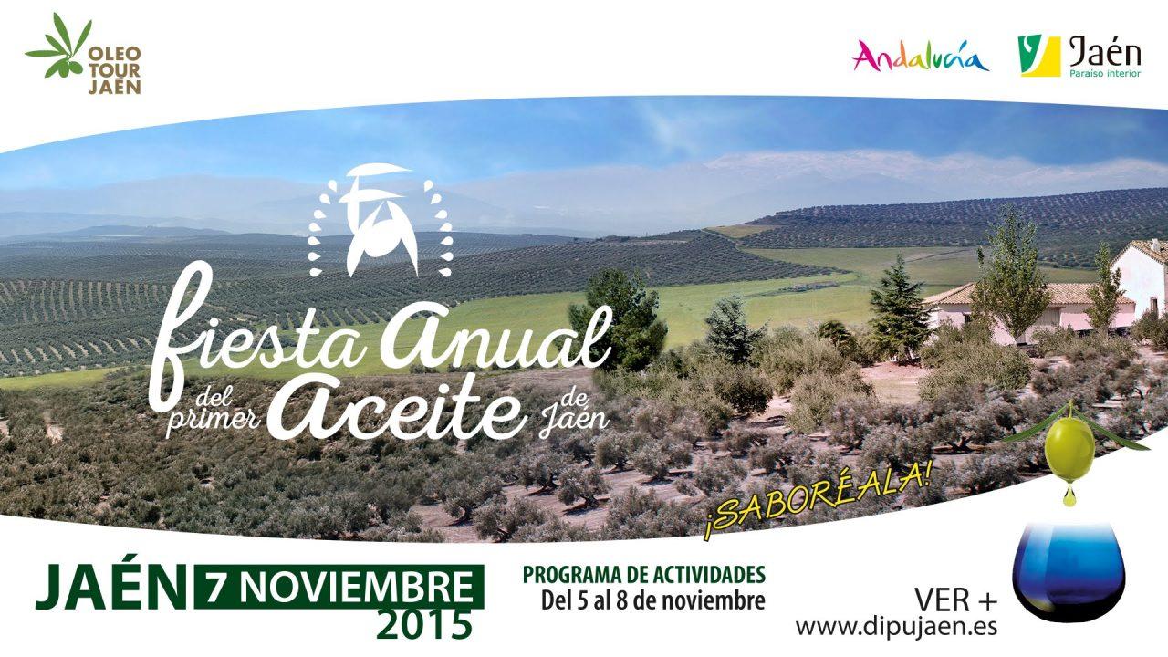 Andújar y Galicia acogerán la tercera edición de la Fiesta del Primer Aceite de Jaén