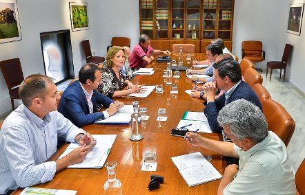 Carmen Ortiz anuncia que la Orden de ayudas para la contratación del seguro agrario se publicará la próxima semana