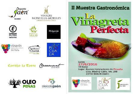 Un total de 16 participantes se disputarán la II Muestra Gastronómica «La Vinagreta Perfecta»