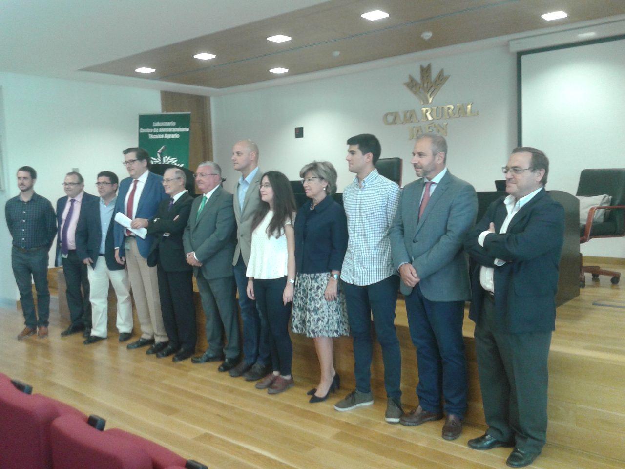 La Caja Rural de Jaén entrega los Premios de Investigación Científica en Olivar y Aceite de Oliva