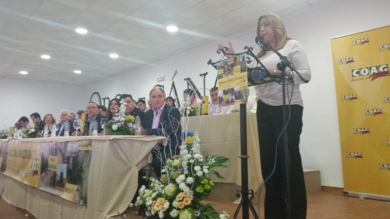 La presidenta de la Junta dice que la Ley de Agricultura pretende abrir un mercado más verde, más joven y más tecnológico