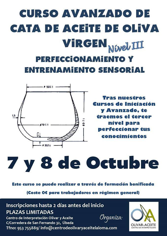 El Centro de Interpretación Olivar y Aceite organiza un curso avanzado de cata de aceite de oliva virgen
