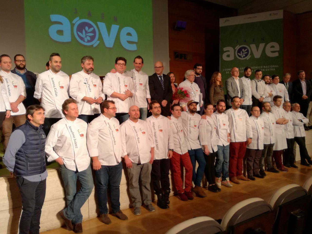 El Congreso Nacional de Gastronomía Jaén AOVE arranca con un reconocimiento al cocinero Salvador Gallego