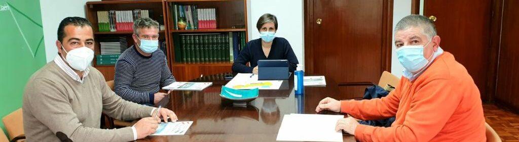Asolite traslada a la delegada de Agricultura sus reivindicaciones