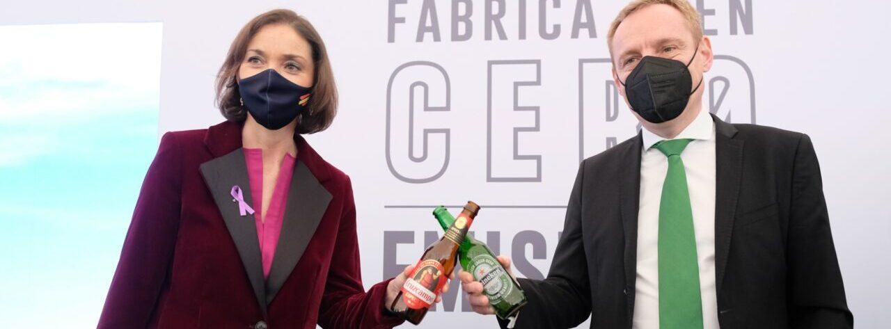 Cruzcampo de Jaén, primera cervecera con emisiones cero en España gracias al aprovechamiento de energía solar y biomasa del olivar