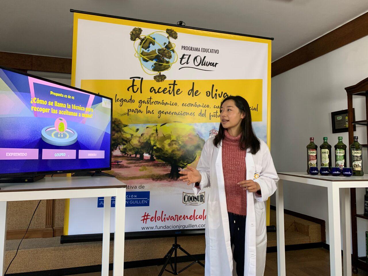 Escolares de Valenzuela (Córdoba) participan en la primera cata de aceite de oliva online del programa educativo El Olivar