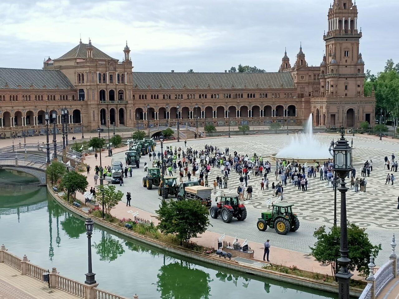 El sector productor se concentra en Sevilla en contra de la convergencia «brusca» de la PAC